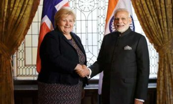 PM Modi Holds Bilateral Meetings With Norwegian Counterparts In Sweden