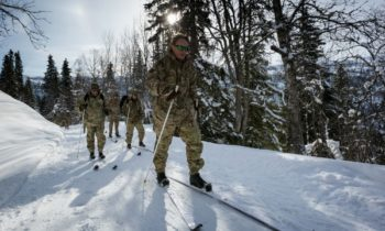 Colburn RAF reservist back from gruelling winter training in Norway