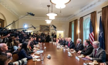 Remarks by President Trump and NATO Secretary General Stoltenberg Before Expanded Bilateral Meeting