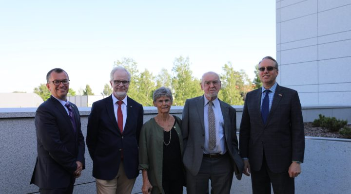 U.S. Embassy Oslo and Embassy of Canada to Norway co-hosted a lovely summer evening reception