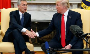 Trump and NATO head welcome increased defense spending