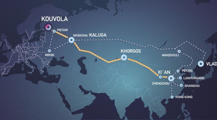 China-Finland cargo train link extends to Norway and Sweden