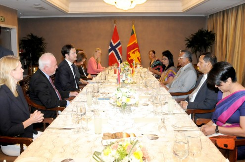 Sri Lanka notes significant role played by Norway in Sri Lanka