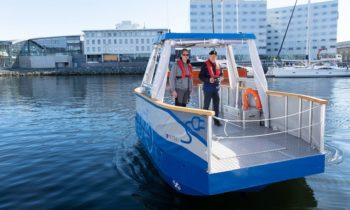 Autonomous electric ferry to enter use in Norway