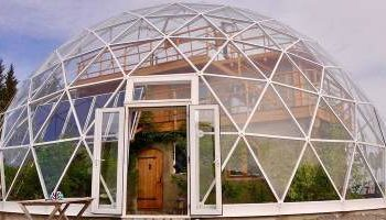 Norway has created a unique eco-house under the dome