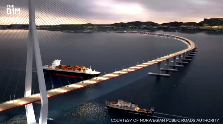 Norway will spend $47bn to create 1,100-km long coastal highway