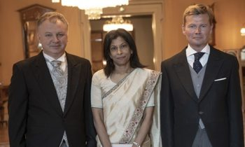 New ambassadors from Sri Lanka, Macedonia and Finland