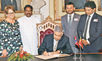 Sri Lankan Parliament, Upper House of Norway to strengthen ties