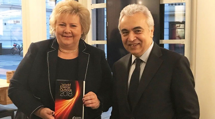 IEA Executive Director visits Norway and Denmark