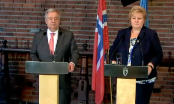 Norway assumes presidency of the Mine Ban Treaty