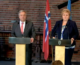 Press conference with UN Secretary-General and Norwegian prime minister