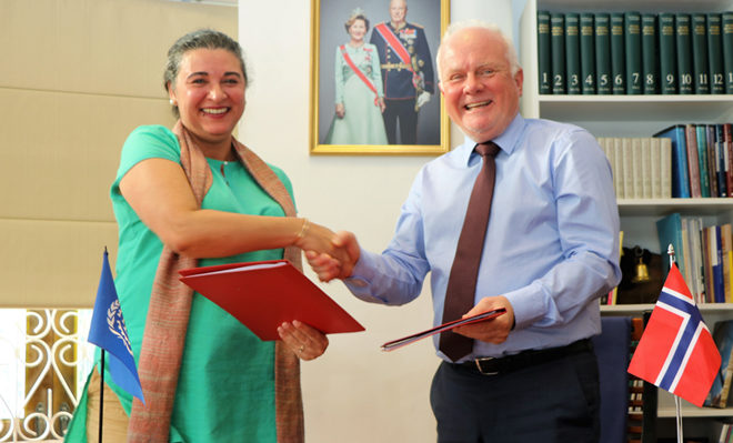 Norway provides USD 3.5 mn for local empowerment through ILO