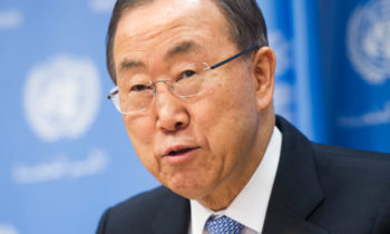 UN secretary general ban ki moon about Sri Lanka