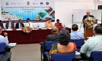 Norway and FAO launch findings of the Nansen survey on Sri Lanka marine resources
