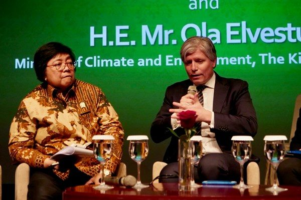 Indonesia reports reduced deforestation, triggering first carbon payment from Norway