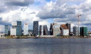 Oslo, Norway's downtown goes virtually car-free