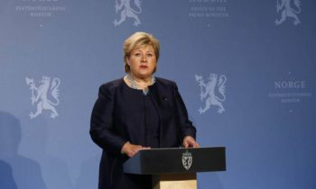 Norway's PM condemns mass shootings in New Zealand