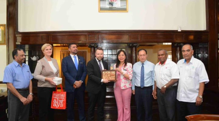 Norway's Minister and Ambassador meets Teresa Kok in Malaysia