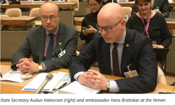 Norway to provide NOK 150 million in humanitarian support to Yemen