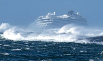 Norway coast prompts rescue operation for 1,300 people on board