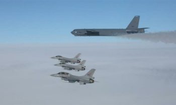 US, Russian bomber jets conduct simultaneous missions off Norway