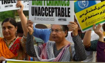 Amid countless unresolved cases, Amnesty International urges Pakistan to act against enforced disappearances