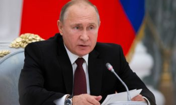 Vladimir Putin sends a welcome to the 5th International Arctic Forum