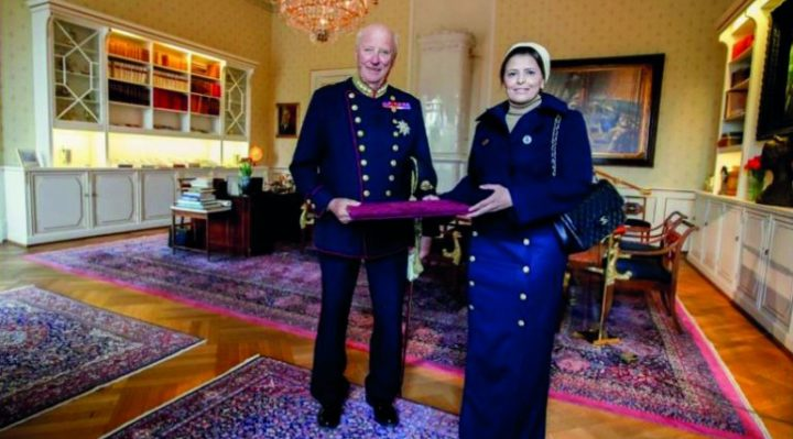 King of Norway receives credentials of Qatari Envoy
