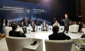 """China Iran and Russia"" key topics at global media forum in Kazakhstan"