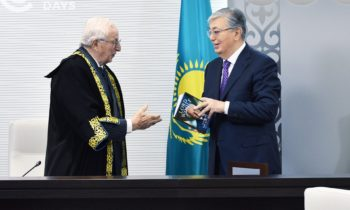 Kazakhstan sees early growth and success with British Common law