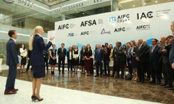 The opening of the office of AIFC Law Pro Bono was held within Astana Finance Days