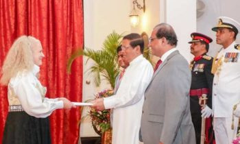 New Norwegian Ambassador presents credentials in Sri Lanka