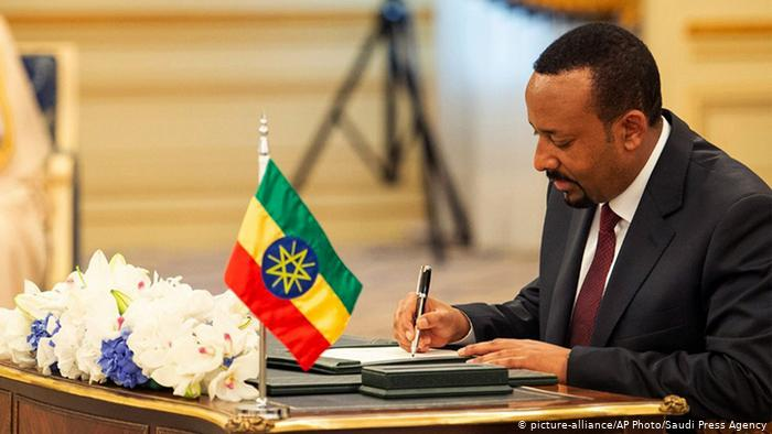 Nobel peace prize to Ethiopia's Abiy Ahmed