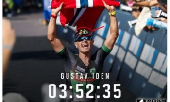 Norwegian triathlete winner Gustav Iden to run in Changhua, Taiwan.