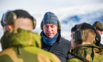 Norwegian Government increase the defence budget by more than 2 billion Norwegian kroner