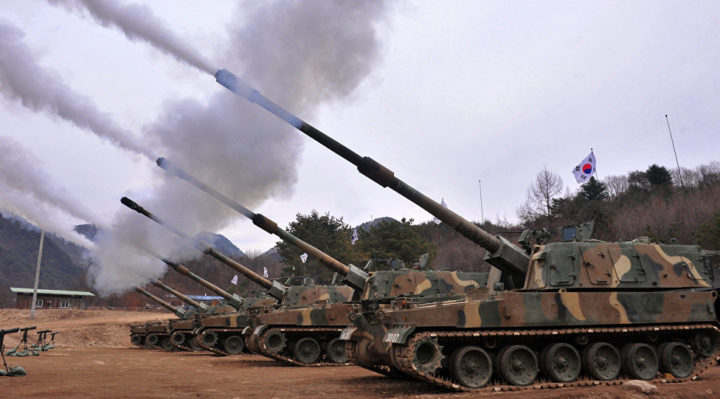The Norwegian Armed Forces received self-propelled howitzers K9
