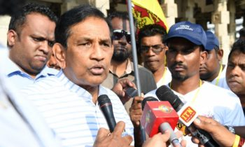 Media secretary fled Sri Lanka due to Police crackdown
