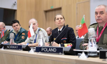 Historic moment for the NATO Military Committee