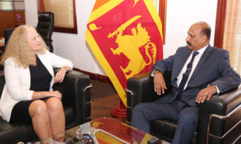 Norwegian Ambassador meets Sri Lankan Defence Secretary