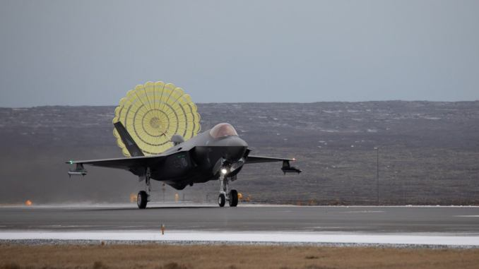 Norwegian F-35s Have Deployed To Iceland for NATO Air Policing Mission