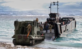 British Royal Marines launched surprise raids on Norway coastline