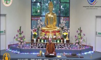 Buddhists congregate virtually as COVID-19 dampens festive spirit of Buddha Poornima