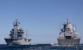 NATO warships from SNMG1 and SNMCMG1 join for exercise