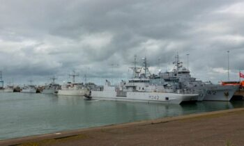 NATO Mine Countermeasures Group-1 participates in Sandy Coast exercise