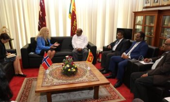 Norwegian Ambassador calls on the Speaker of SL