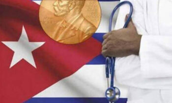 Cuban Doctors with Nobel Peace Prize accepted