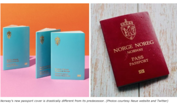 New Taiwan passport overshadowed by Norwegian stylish makeover