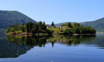Norwegian island nestled in a fjord for Dh11.9 million