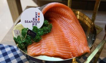 Norwegian salmon exports hit record level