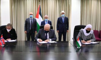 Palestine, Norway sign agreements worth $7.5 Million